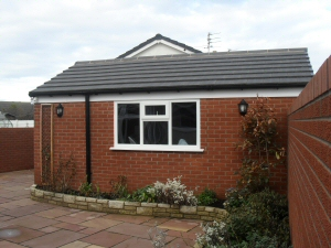 Photo - Extension with electrics, double glazing, pan tile roof and landscaping in Poulton-le-Fylde